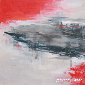 Wendy Graat abstract 2013 acryl 80x80cm Christel en Jolan 1 IMG_0062